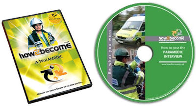 How To Become A Paramedic Book and DVD