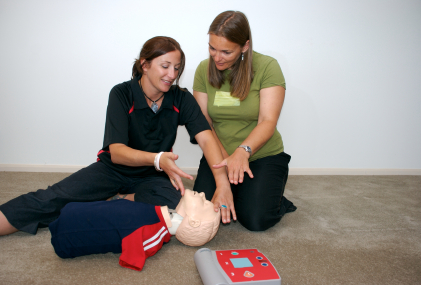 The Save A Life Education Centre will help members of the public with vital first aid practice