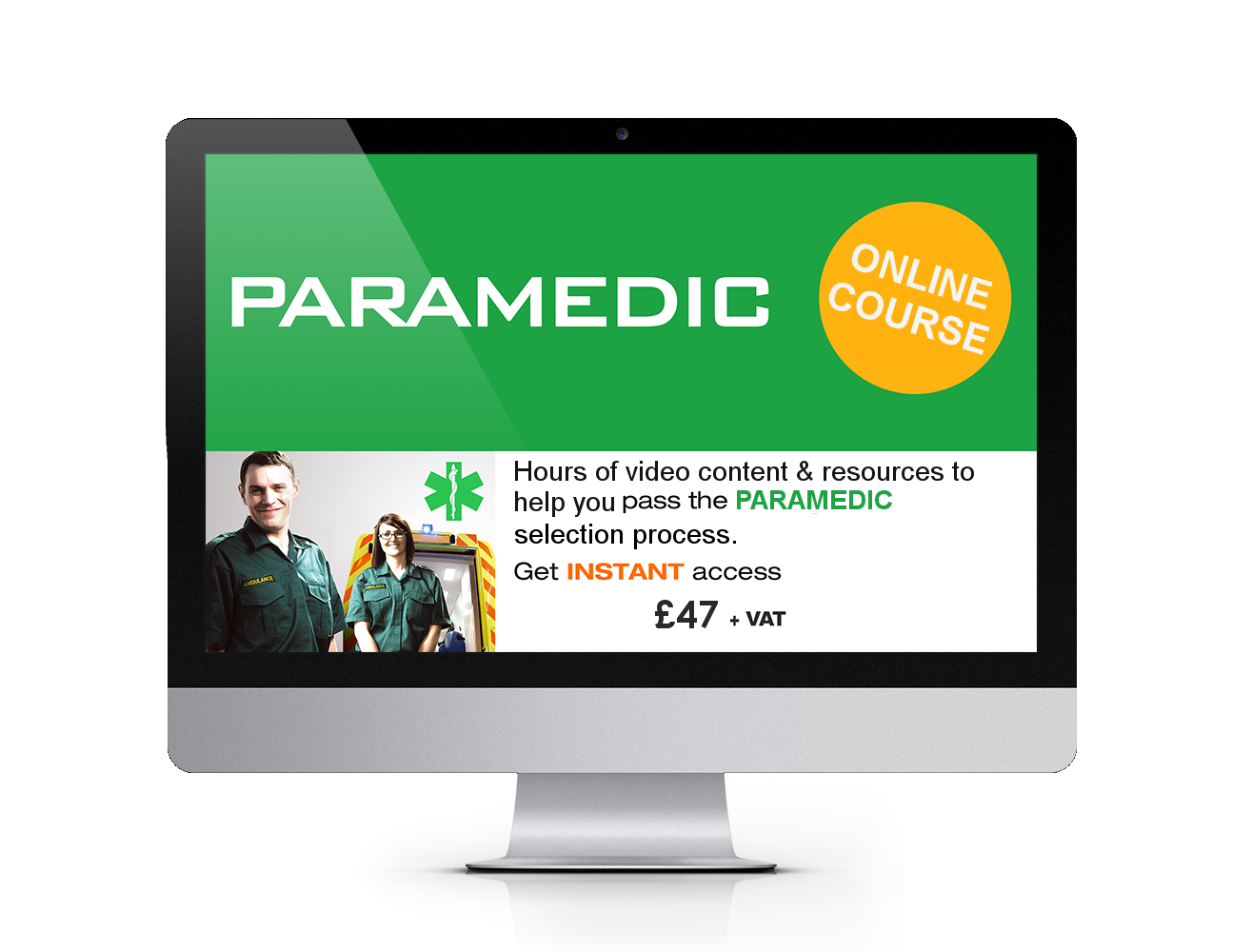 Online Paramedic Course Instant Access Image